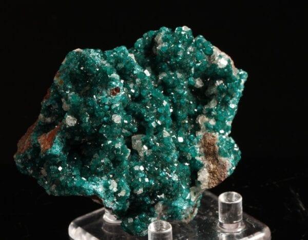 dioptase-calcite-744733385