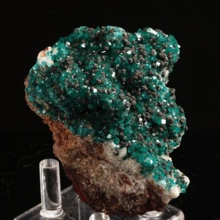 dioptase-heterogenite-calcite-420763416