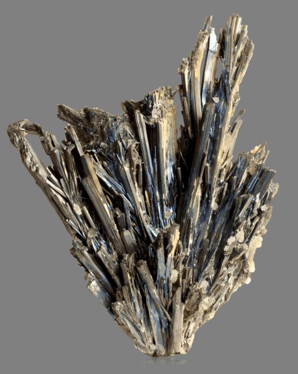 stibnite-calcite-163057527